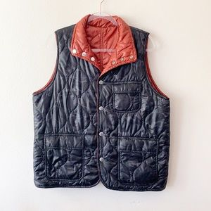Stussy Deluxe Light Quilted Reversible Vest